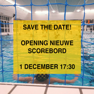 Save the date: 1 December