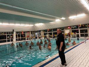 Verjaardagstraining trainer Piet Overdevest