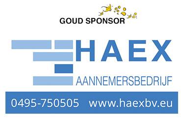 Aannemersbedrijf Haex BV - Goud Sponsor